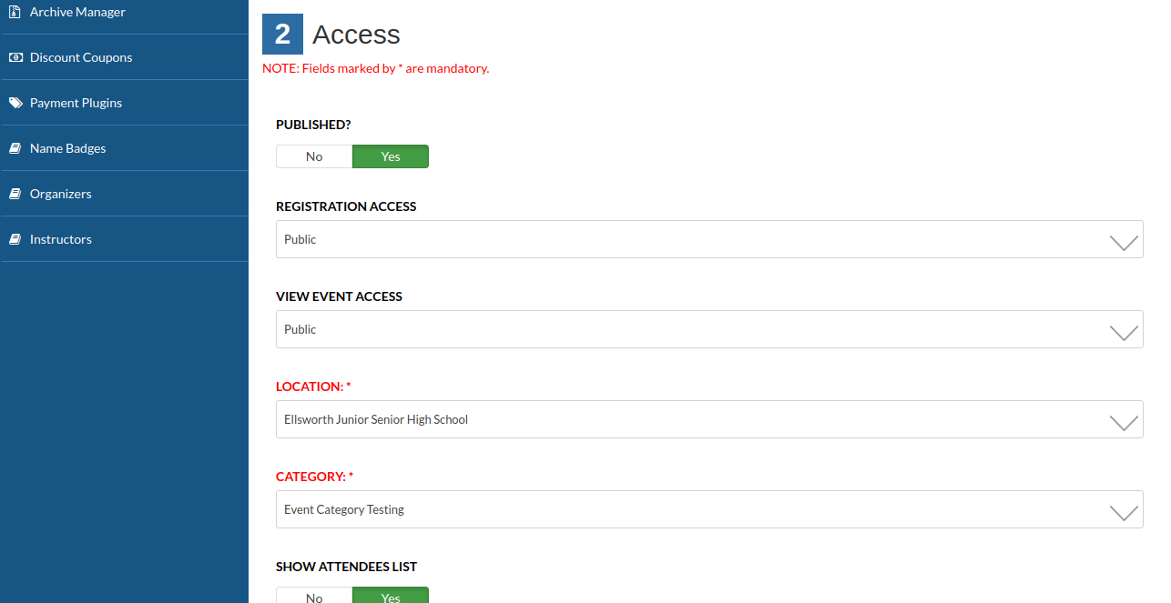 eventaccess