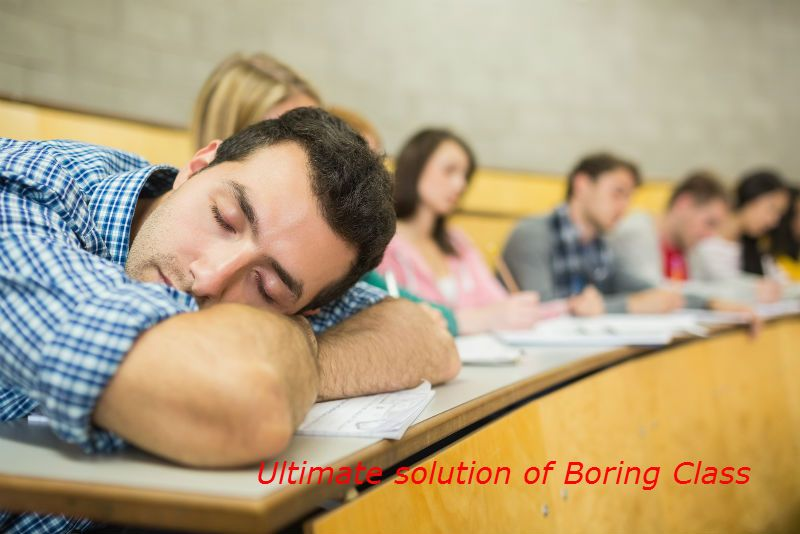 Ultimate Solution of Boaring Class
