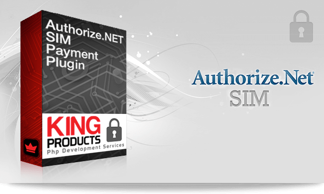 Authorize.net SIM payment gateway for LMS King