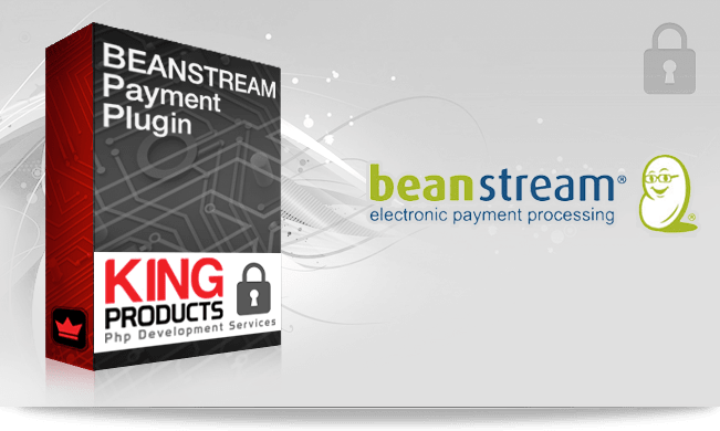 Beanstream Direct payment gateway for LMS King