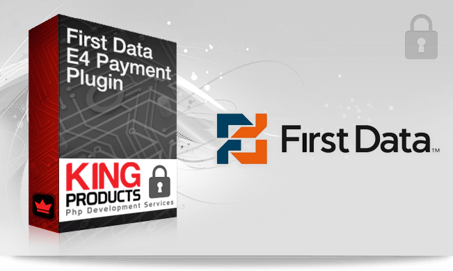 FirstData e4 payment gateway for LMS King