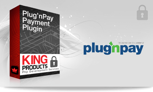 This is the Plug'nPay payment gateway for LMS King