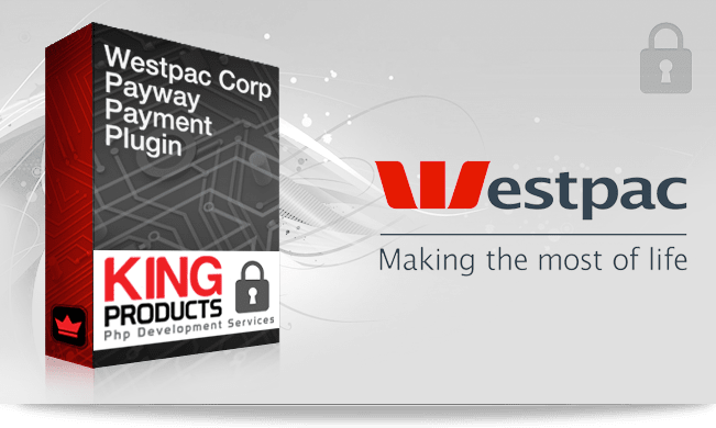 This is the Westpac Corp payway Payment gateway for LMS King