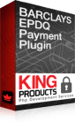 Barclays Epdq payment gateway for LMS King