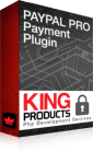 PayPal Pro US (Website payments Pro) payment gateway for LMS King