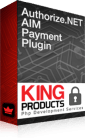 Authorize.net AIM payment gateway for LMS King